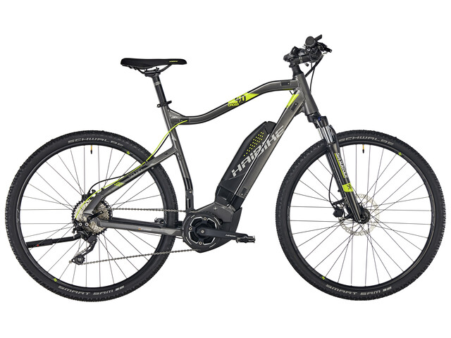 HAIBIKE SDURO Cross 4.0 Anthrazit/Schwarz/Lime